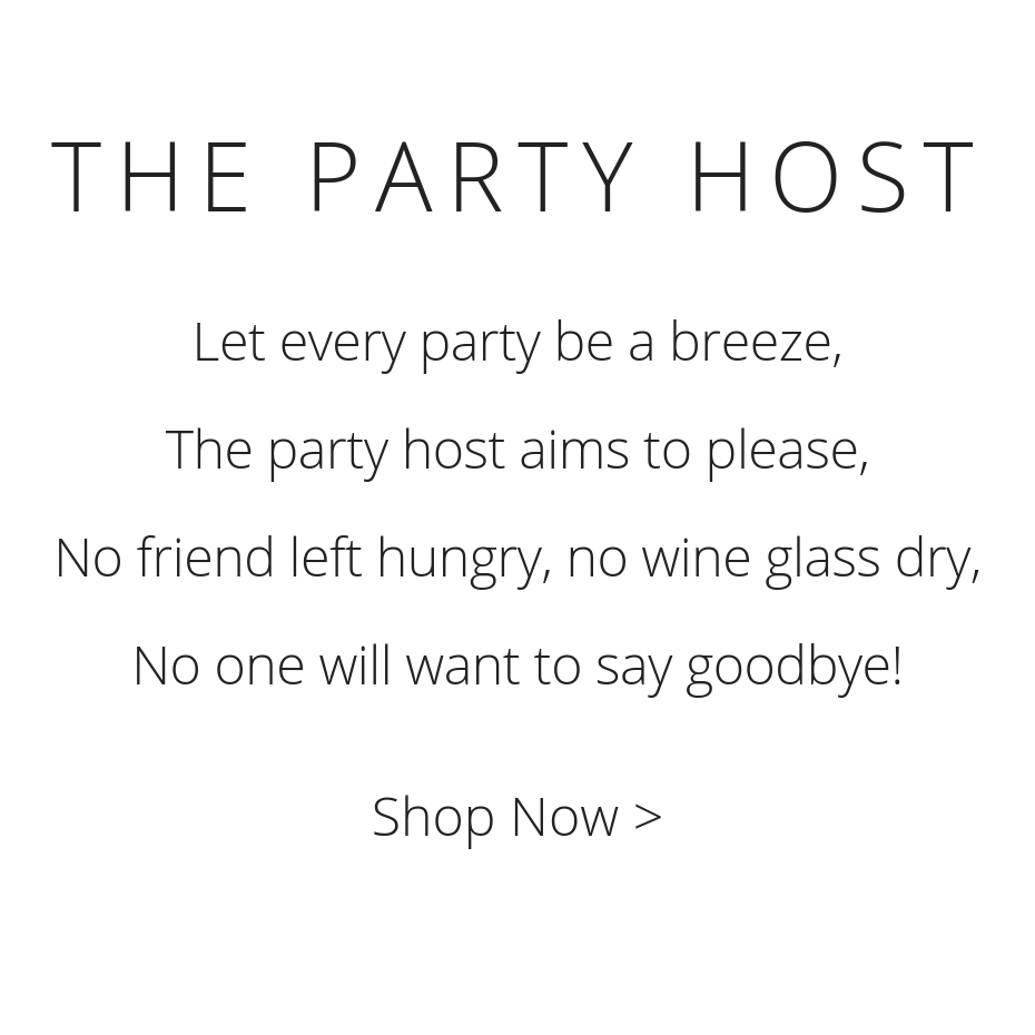Go Date Myself - Collections - The Party Host Collection - Poem