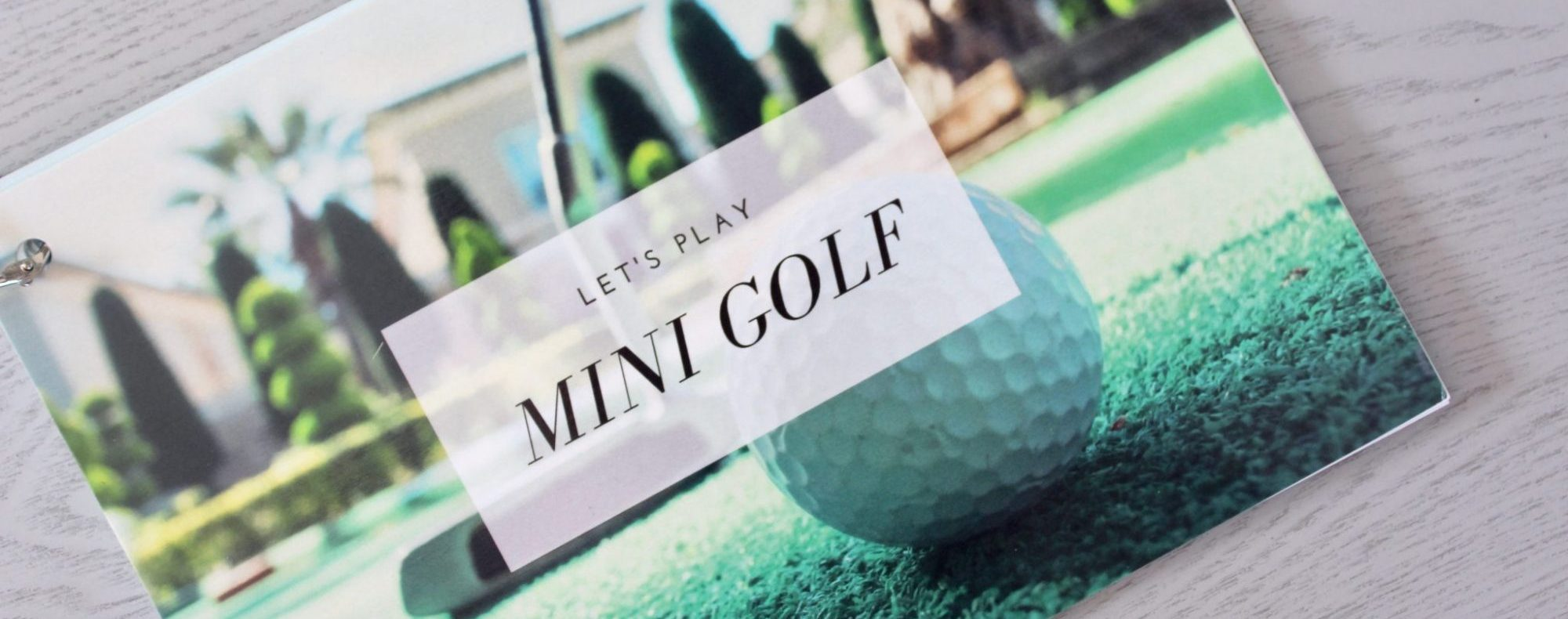 Go Date Myself - Mini-Golf-Starter Kit - Instructions - Cropped