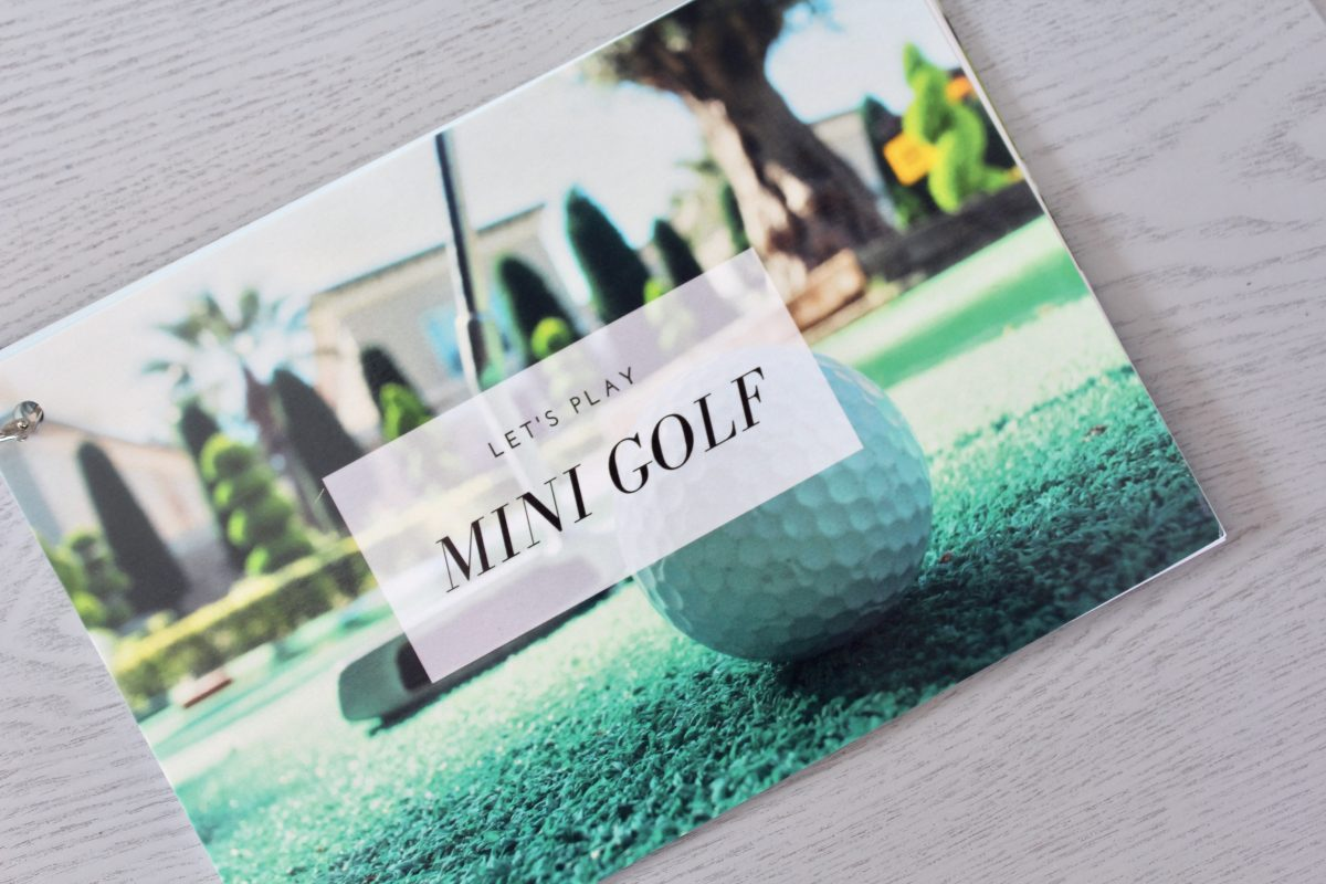 Go Date Myself - Mini-Golf-Starter Kit - Instructions